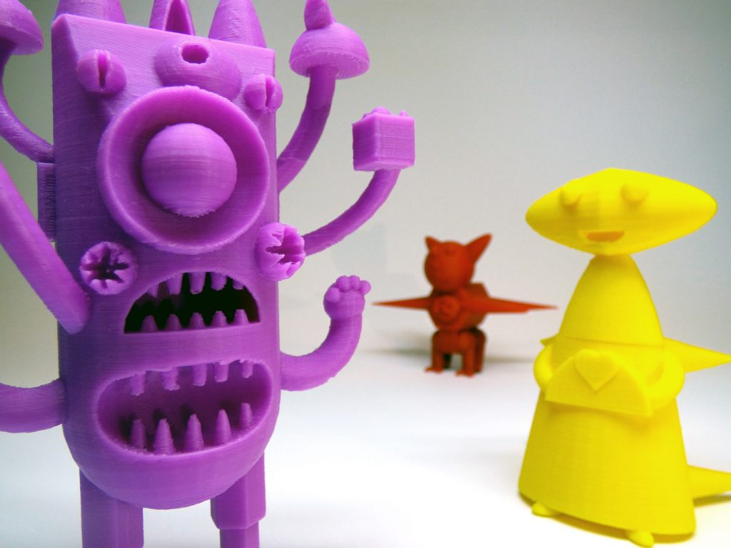 Creador@s de Juguetes: impresión 3D para niñxs