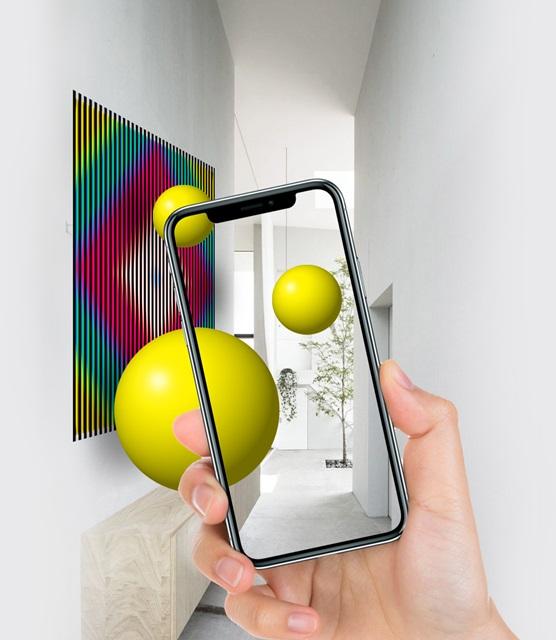 Charla De la analogía del Arte Óptico, al futuro de la Realidad Aumentada.